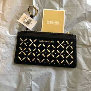 NWT Michael Kors Lg Slim Card Case